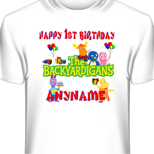 Backyardigans Custom Birthday T-Shirt