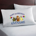 Wonder Pets Personalized Birthday Pillow Case