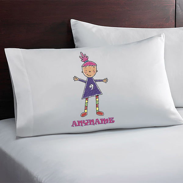 Pinky Dinky Doo Personalized Pillow Case