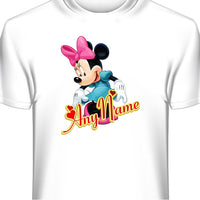 Minnie Mouse Personalized Custom T-Shirt