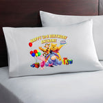 Winnie The Pooh Custom Birthday Pillow Case