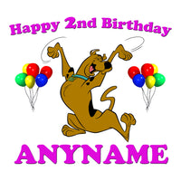 Scooby Doo Personalized Birthday Pillow Case