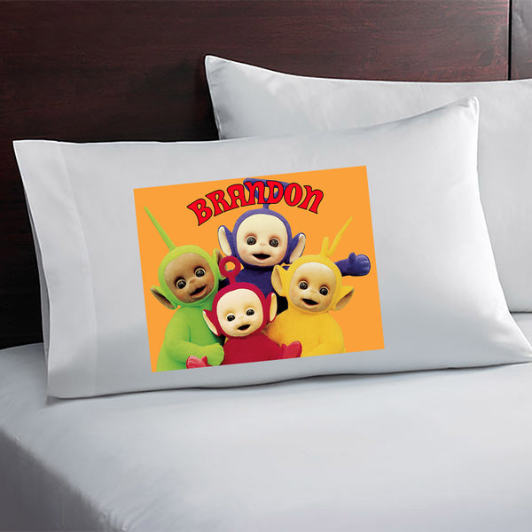 Teletubbies Personalized Pillow Case