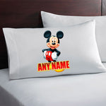 Mickey Mouse Personalized Pillow Case