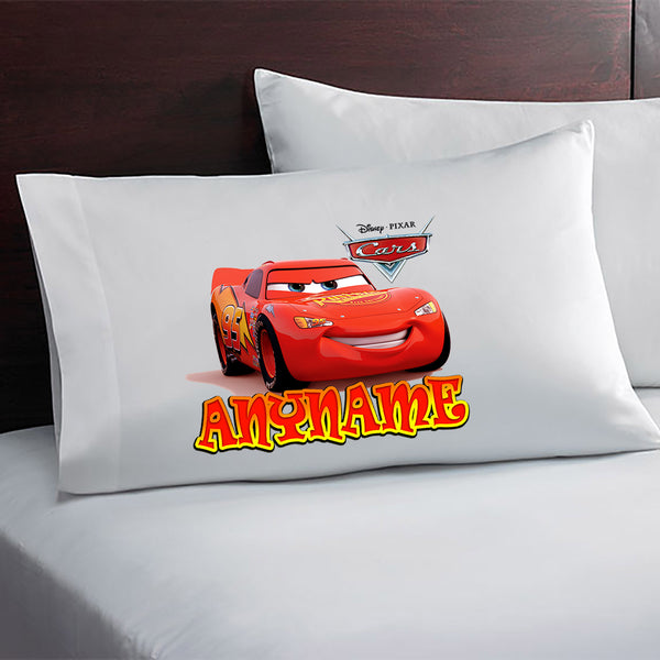Lightning Mcqueen Cars Movie Personalized Pillow Case