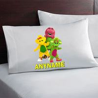 Barney Personalized Pillow Case
