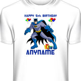 Batman Bat Man Personalized Custom T-Shirt