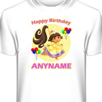 Personalized Custom Dora The Explorer Birthday T-Shirt