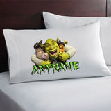 Personalized Shrek Pillow Case