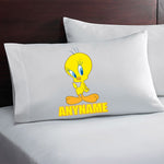 Personalized Tweety Bird Pillow Case