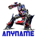 Personalized Optimus Prime Pillow Case Transformers