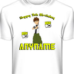 Personalized Custom Ben 10  Birthday T-Shirt