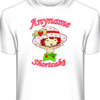 Custom Personalized Strawberry Shortcake T-Shirt