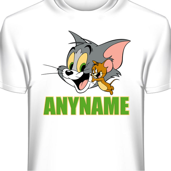 Tom and Jerry Personalized T-Shirt