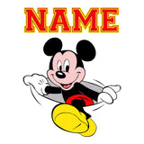 Mickey Mouse Personalized Custom Pillow Case