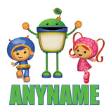 Team Umizoomi Personalized Custom Pillow Case