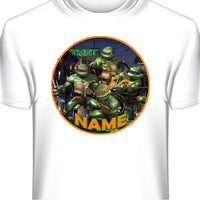 Teenage Mutant Ninja Turtles Custom T-Shirt