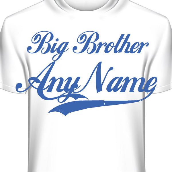Big Brother Custom Personalized T-Shirt
