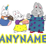 Max and Ruby Custom Printed Personalized Pillow Case