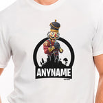 Fortnite Crackshot Skin T-Shirt Personalized with Your Custom Name