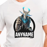 Fortnite Ragnarok Character Skin T-Shirt Personalized with Your Custom Name