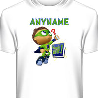 Super Why Personalized T-Shirt