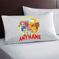 Bubble Guppies Custom Personalized Pillow Case