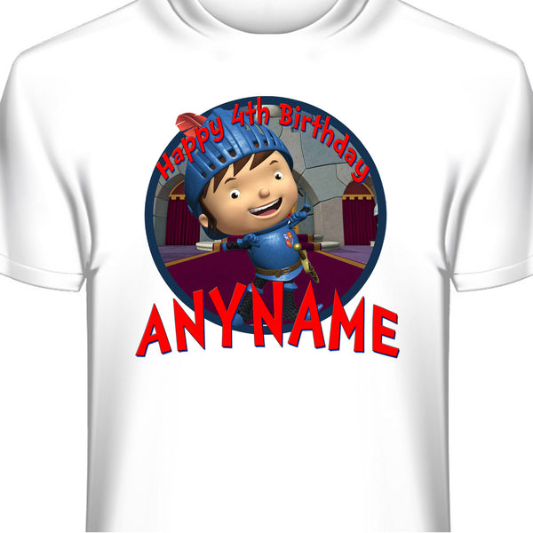 Mike the Knight Personalized Birthday T-Shirt
