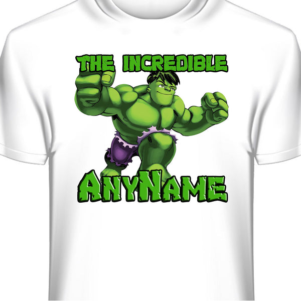 The Incredible Hulk Personalized T-Shirt