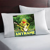 Kermit the Frog Personalized Pillow Case
