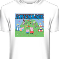 Peppa Pig Personalized and Custom T-Shirt
