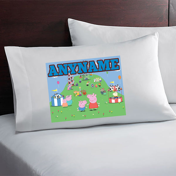 Peppa Pig Personalized and Custom Pillow Case