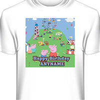 Peppa Pig Personalized Birthday T-Shirt