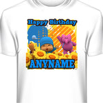Pocoyo Custom Printed Birthday T-Shirt