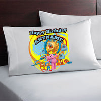 Pocoyo Personalized Birthday Pillow Case
