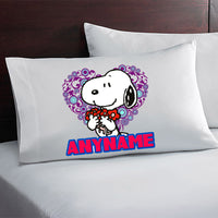Snoopy Personalized and Custom Pillow Case