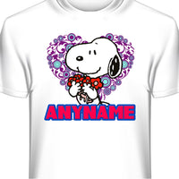 Snoopy Personalized and Custom T-Shirt