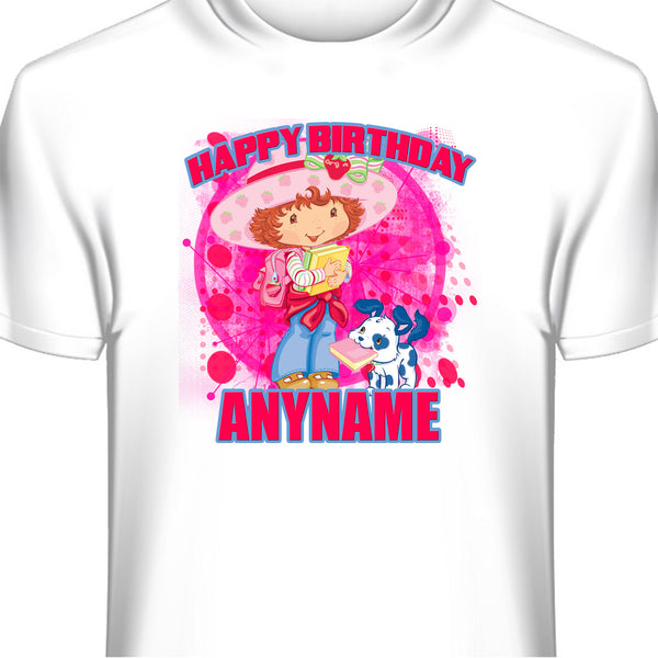 Strawberry Shortcake Personalized Birthday T-Shirt