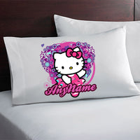 Hello Kitty Personalized Custom Pillow Case