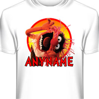 Muppets Animal Personalized and Custom T-Shirt with Your Name