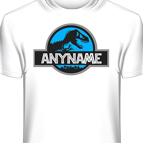 Jurassic World Personalized T-shirt Custom Printed Dinosaur Tee