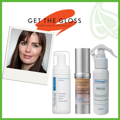 Oxygenetix, Clinisept+ and NeoStrata in Get The Gloss