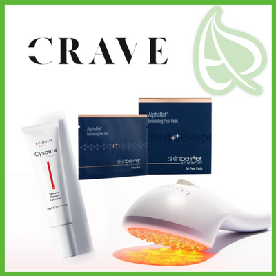 Cyspera, Lightstim and Skinbetter Science in Crave