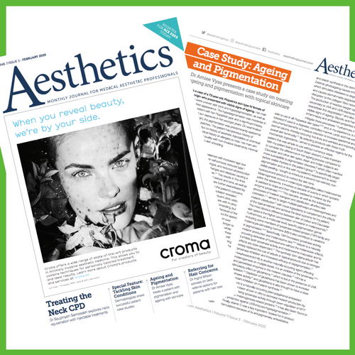 skinbetter science in Aesthetics Journal case study