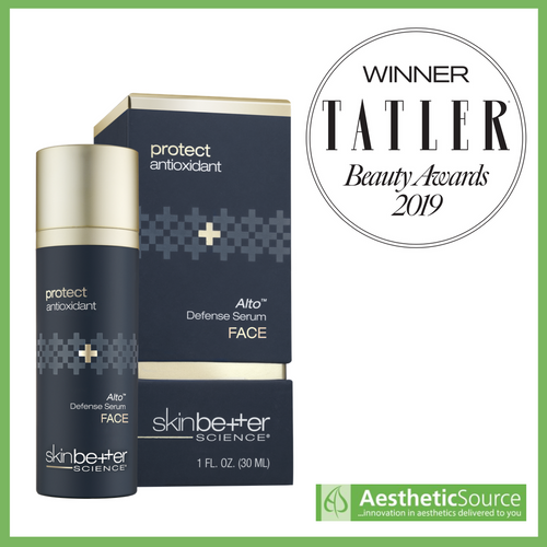 Alto Defense Serum wins Tatler Beauty Award