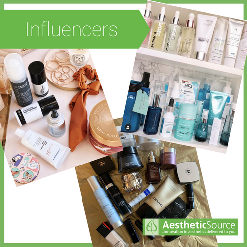 Neostrata & Exuviance Coverage from Influencers