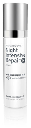 Aesthetic Dermal Daily Care NIGHT INTENSIVE REPAIR Hyaluronic Acid