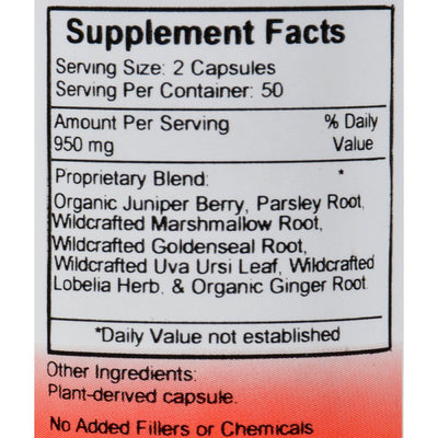 Dr. Christopher's Original Formulas Kidney Formula - 500 Mg - 100 Caps
