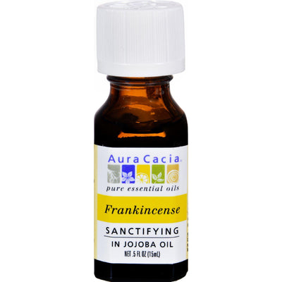 Aura Cacia Frankincense In Jojoba Oil - .5 Oz