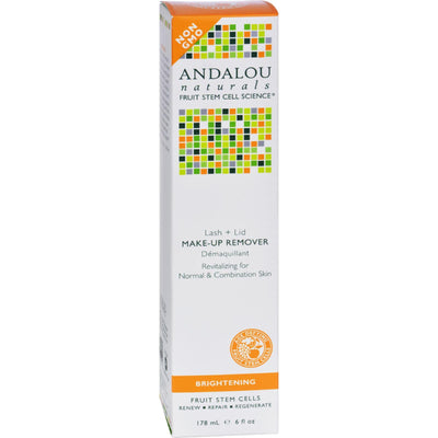 Andalou Naturals Revitalizing Lash + Lid Make-up Remover - 6 Oz